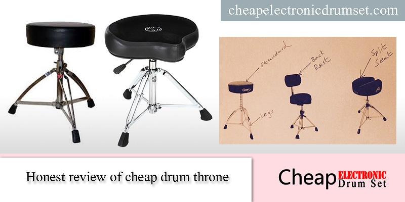 Review of cheap drum throne