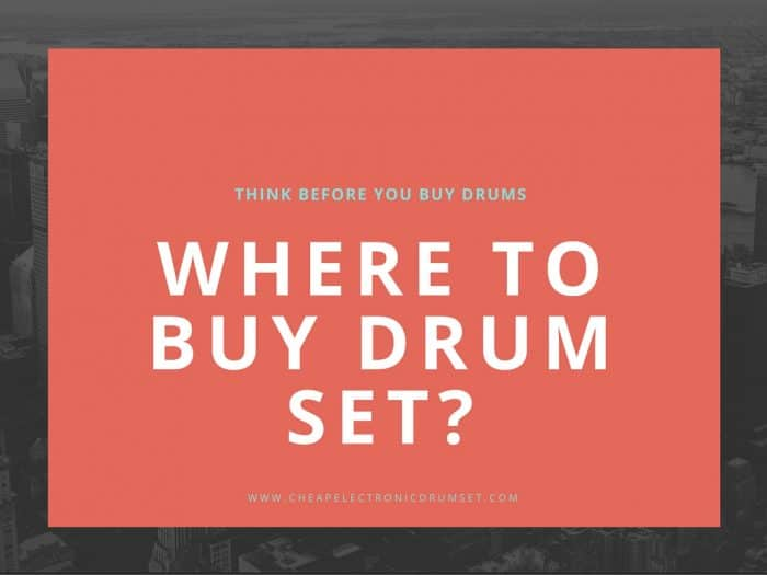 Where to Buy Drum Sets