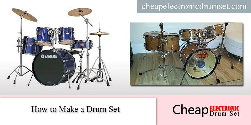 How to make a drum set instruction