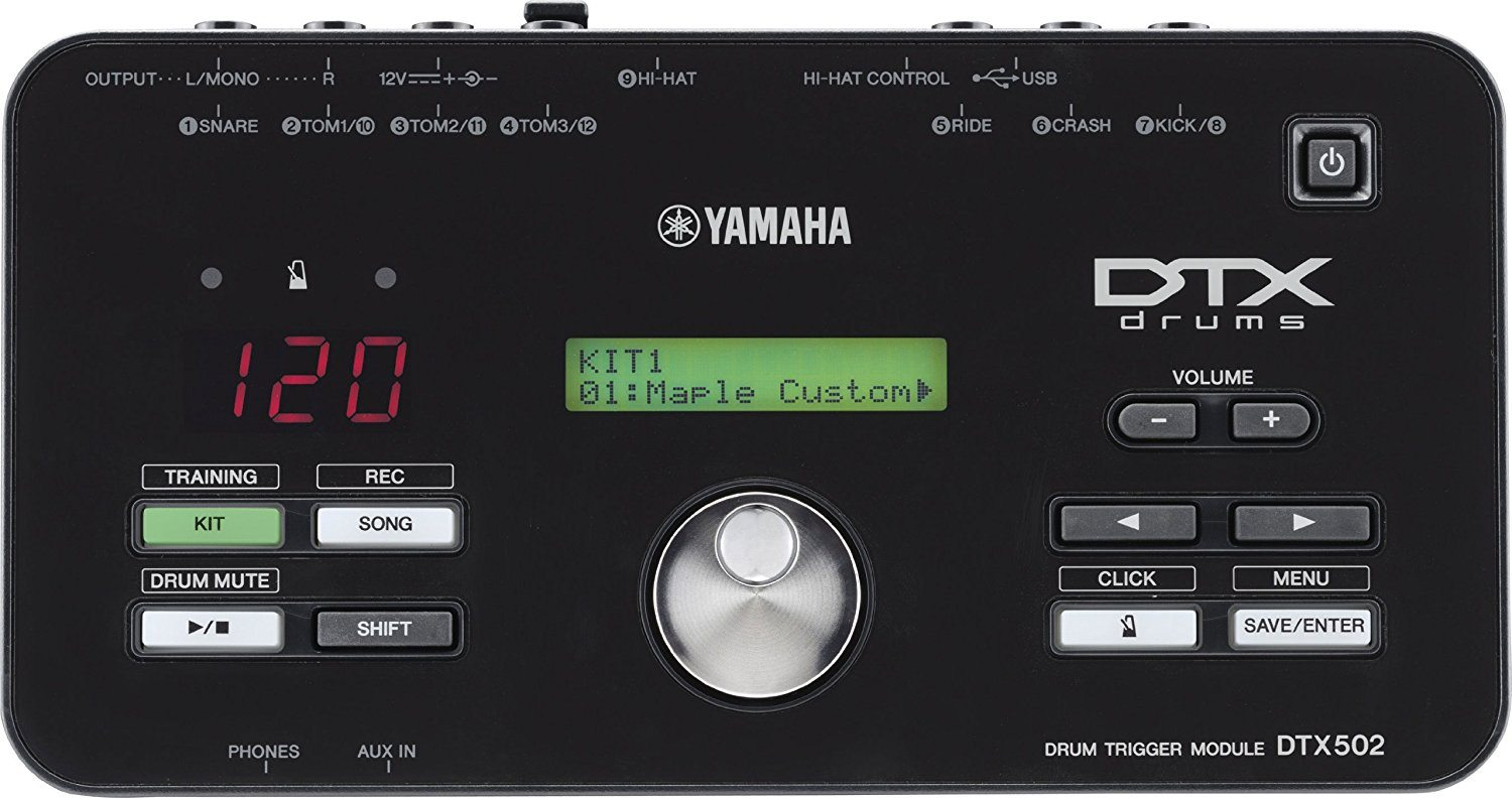 Yamaha DTX522K Electronic Drum Kit with Free iOS App