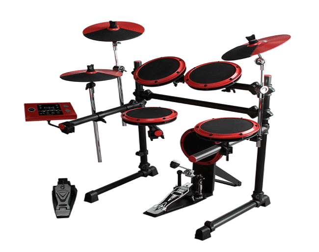 interface of electronic drum sets