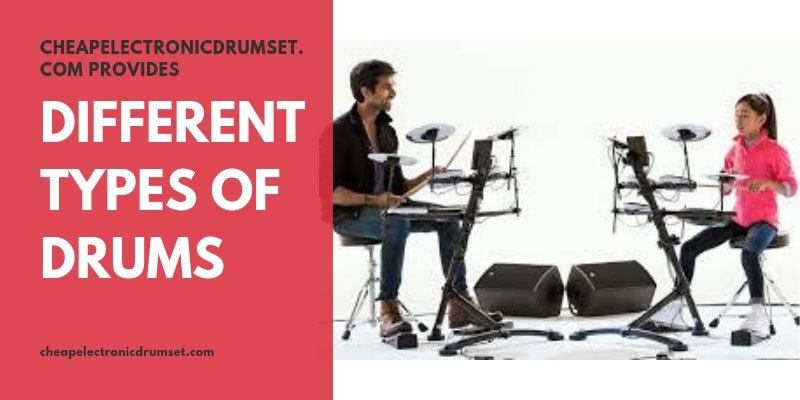 different types of electronic drums you like to know