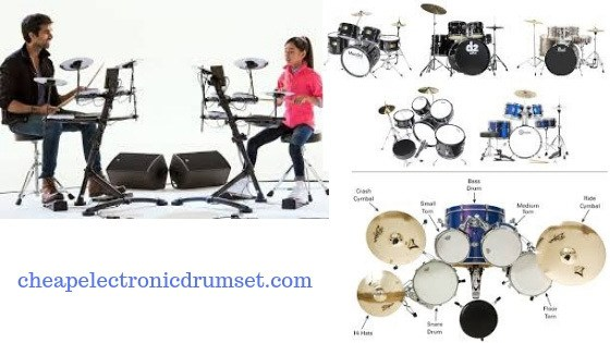 types of electronic drum sets