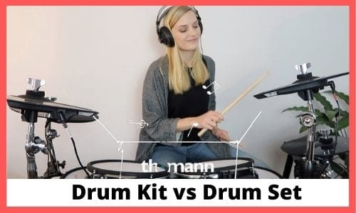 Differences of Drum Set and Drum Kit