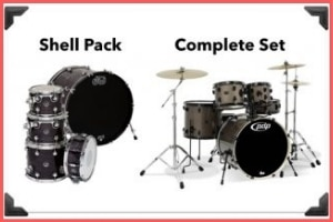 Shell Packs vs Complete Drum Sets